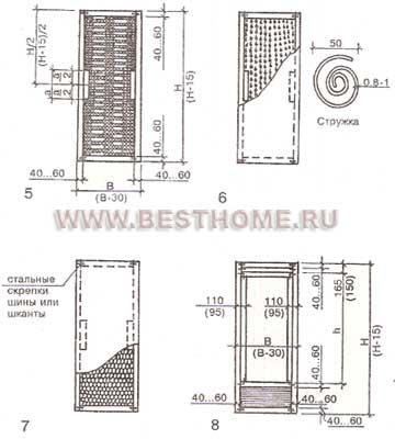 Блок дверной внутренний щитовой оргалитовый мелкопустотного заполнения в Издешково,Болотном,Березовском
