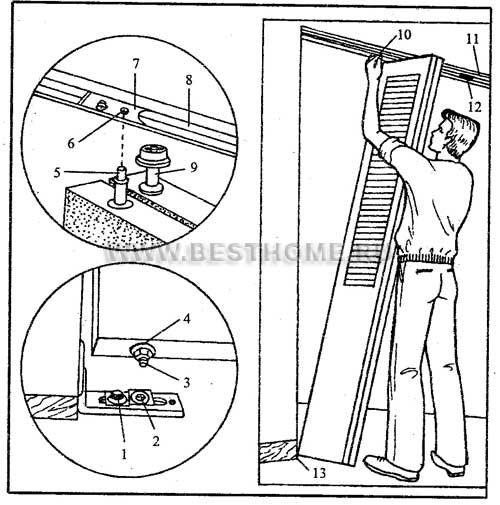 Дверь книжка межкомнатная своими руками пошаговая инструкция 95