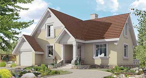 проекты кирпичных домов и коттеджей - Нужные схемы и описания для всех.