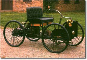 Квадрицикл. Первый автомобиль Генри Форда.