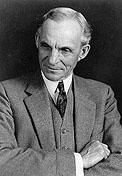 """Генри Форд. Основатель автомобильной компании """"Форд"""". Родился 30 июля 1863 года. Умер в 1947 году в возрасте 83 лет."""