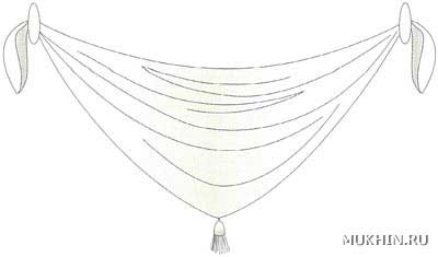 Мужске вязаные шарфы