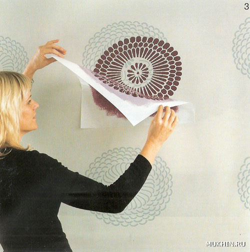 Как сделать в домашних условиях трафарет для стен своими руками 29