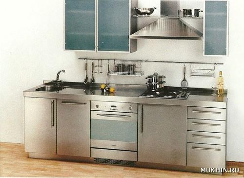Кухни из стали