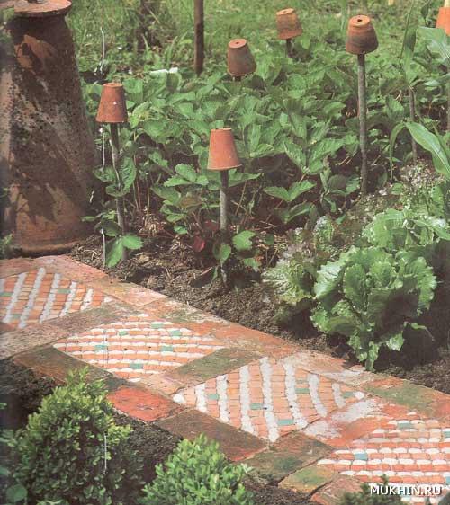 рельефные плиты с мозаичным узором