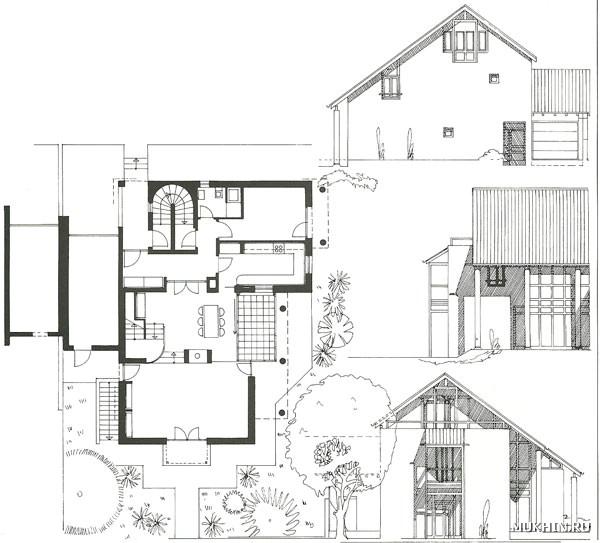красивая планировка дома фото