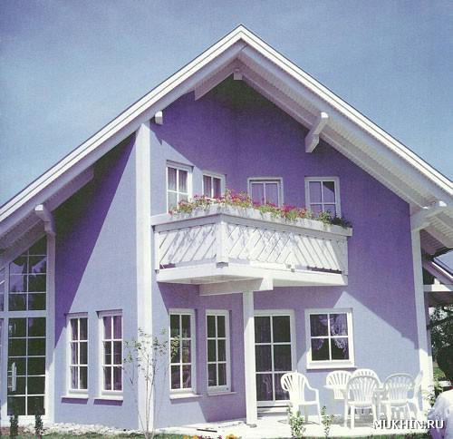 Фото фасады белых цветов домов