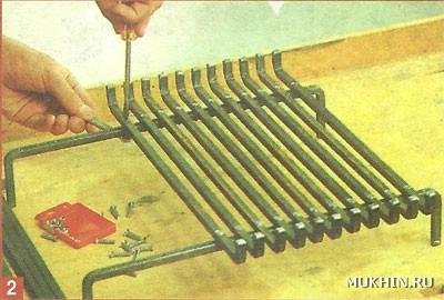 Решётка для мангала своими руками