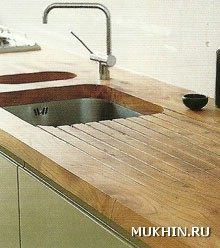 Столешница и раковина для кухни своими руками