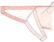 Выкройка подхват для штор своими руками