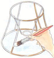 Сделать каркас для абажура своими руками