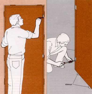 Во избежании проблем при монтаже дверей, мы.