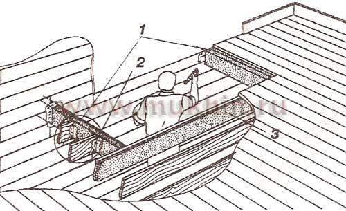 Как сделать проем в деревянном перекрытии 549