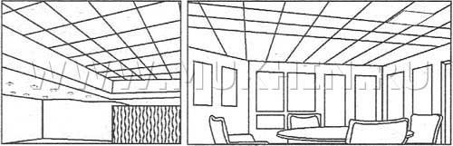 Акустический потолок 1