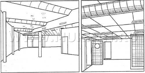 Акустический потолок 2