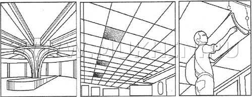 Акустический потолок 3