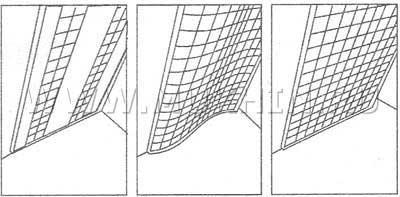 Внутренние перегородки из стеклоблоков