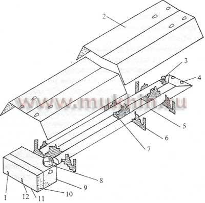 Схема конструкции газового инфракрасного обогревателя: 1 - подключение электричества; 2 - отражатель; 3...