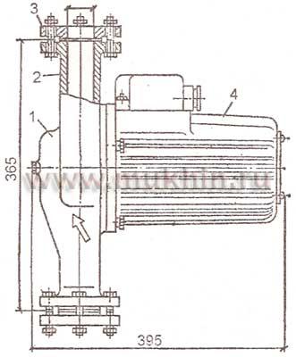 Устройство систем водяного отопления с искусственной циркуляцией теплоносителя.
